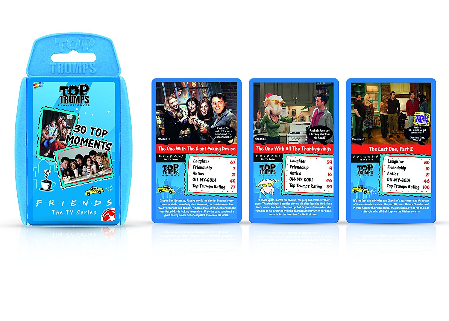 Friends Top Trumps Card Game1